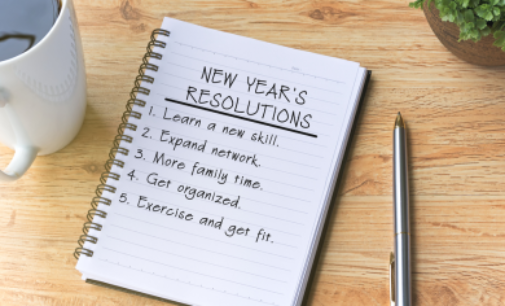 Mental Health Monday- 5 New Year's Resolutions for Better Mental Health